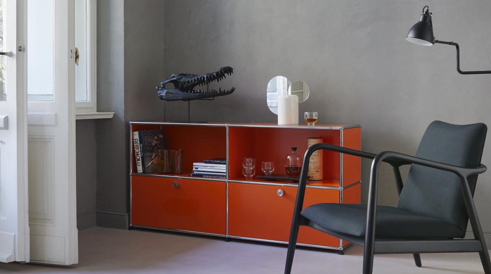 usm sideboard finest usm haller blue sideboard living room with usm sideboard beautiful usm. Black Bedroom Furniture Sets. Home Design Ideas